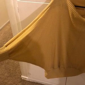 easel Tops - Bat Wing Sweater